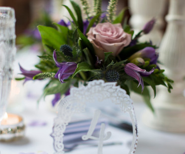 Decorative Mirror Table Number
