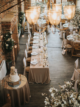 Magnolia Wedding Set Up