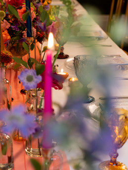 Wildflower Colourful Wedding Table