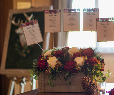 Crate of Florals Seating Chart