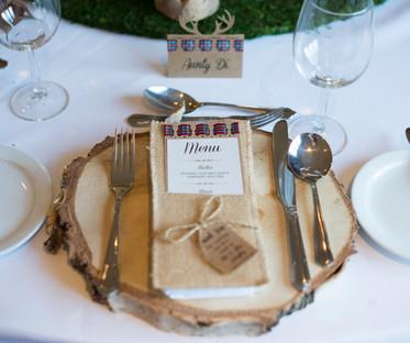 Log Slice Charger Plate