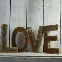 Bark and Metallic Love Letters