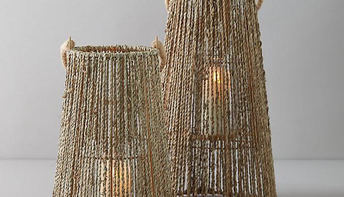 Large Seagrass Lantern