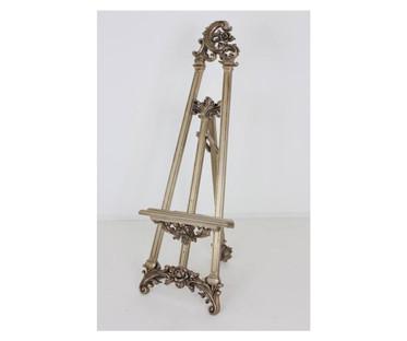 Bronzed Ornate Floor Standing Display Easel