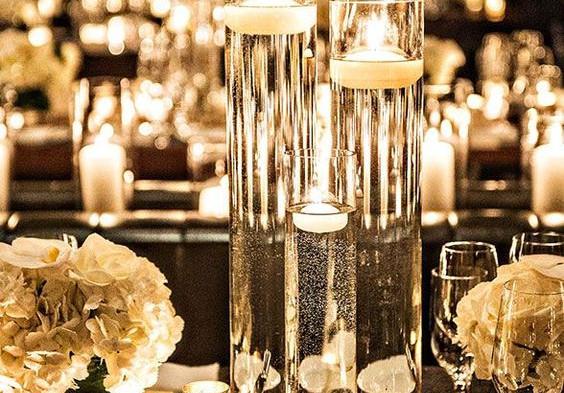 Glass Cylinder Candle Centrepiece.jpg