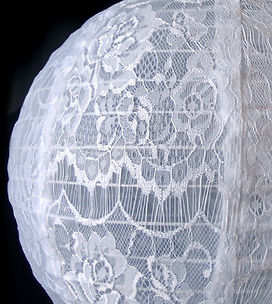 12-white-lace-fabric-lantern-even-ribbin