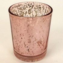 Rose Gold _ Pink Candle Votive