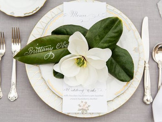 Hot 2017 Wedding Trend - Greenery