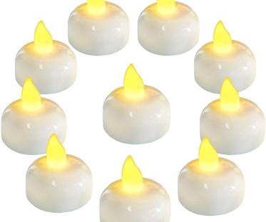 Waterproof Floating LED Tea Light Candles