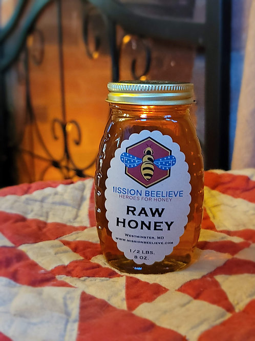 1/2 LB Honey Jar