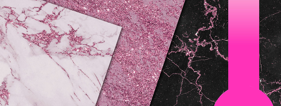 Pink/ Rose Gold Marble Textures