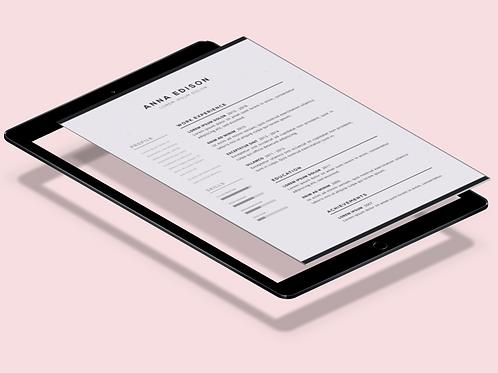 Resume/ Cover Letter/ CV
