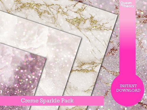 Creme Sparkle Pack