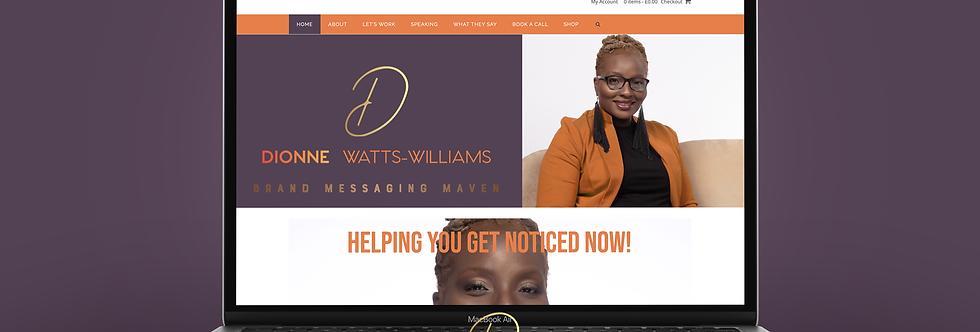 Wordpress Starter Website + Logo Package