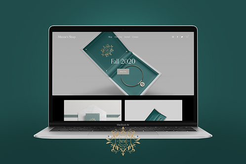 Squarespace Starter Website + Logo Package