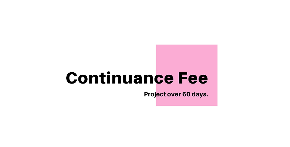 Continuance Fee