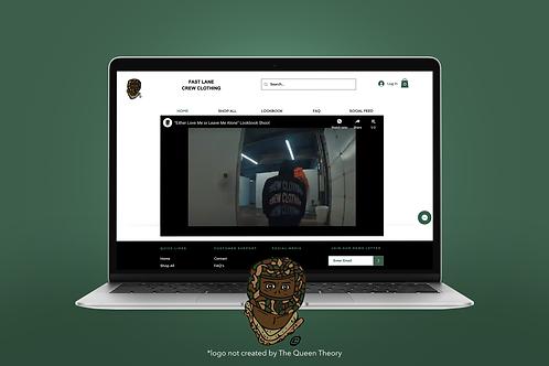 Wix Starter Website + Logo Package