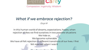 What if we embrace rejection?