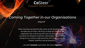 Coming Together in our Organisations