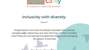 Inclusivity with diversity