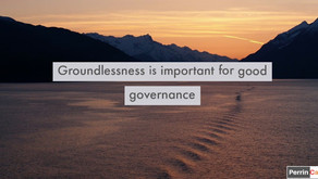 Groundlessness is important for good governance