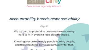 Accountability breeds response-ability