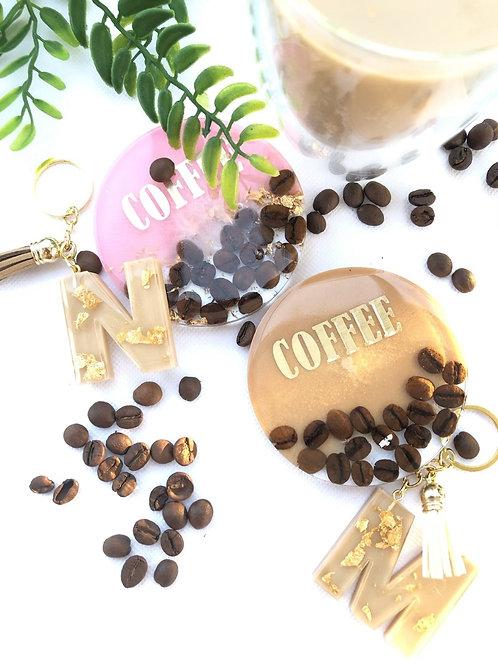 4 תחתיות לכוסות - דגם קפה