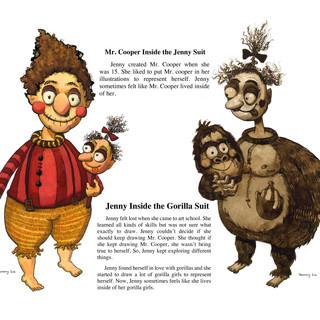 Mr. Cooper, Jenny, the Gorilla Girl