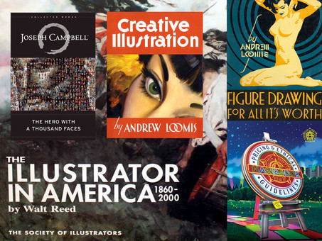 7 Essential Books That Every Illustrator Should Have