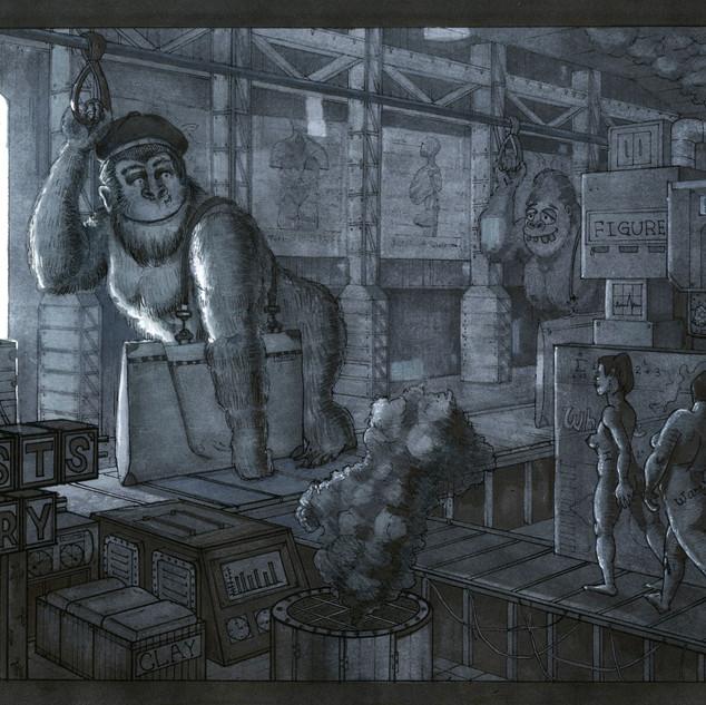 The Gorilla Girl's Life