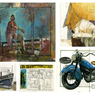 Location Drawing & Painting