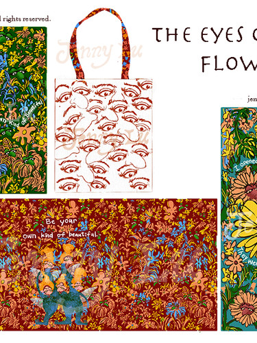 """""""The Eyes of The Flowers"""" Art Collection"""
