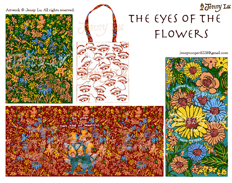 """The Eyes of The Flowers"" Art Collection"