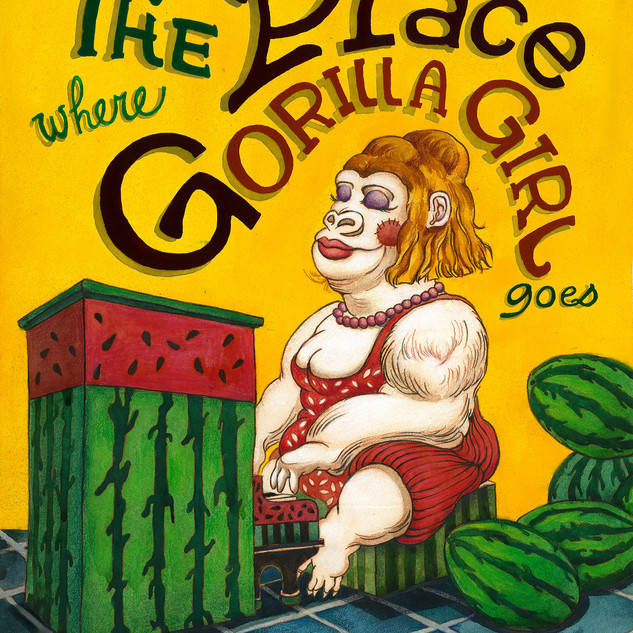 The Place Where Gorilla Girl Goes
