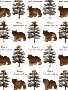 """Patterns for """"Rustic Lodge"""" Art Collection"""