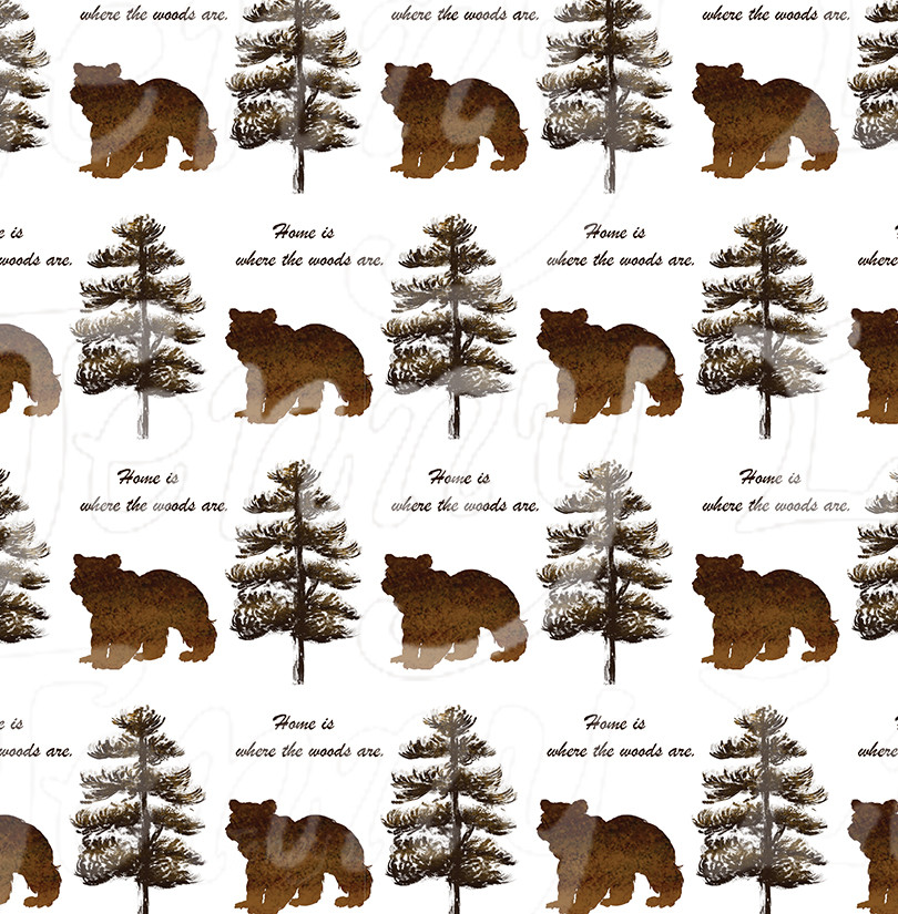 "Patterns for ""Rustic Lodge"" Art Collection"