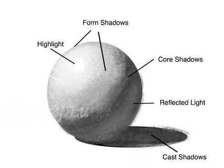 5 Essential Light and Shadow Types that Every Artist Should Know