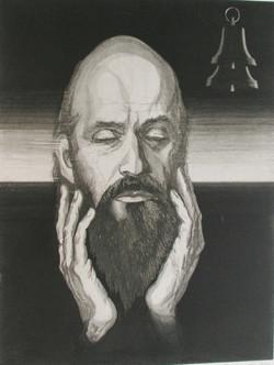 Helilooja Arvo Pärdi portree
