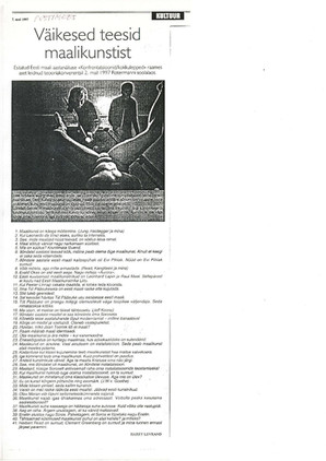 Maal 97. Konfrontatasioonid-Kokkulepped