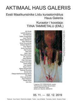 Aktimaal Haus Galeriis 2019