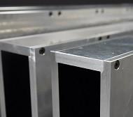 Metallic Neutron Guide Aluminium