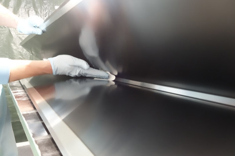 10B4C enriched Boron-10 carbide coating