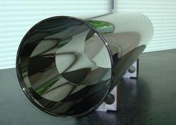 Coated glass tubes