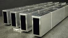 NIST 60x150 mm freestanding self-evacuated guide