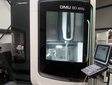 Our new 5 axis milling machine