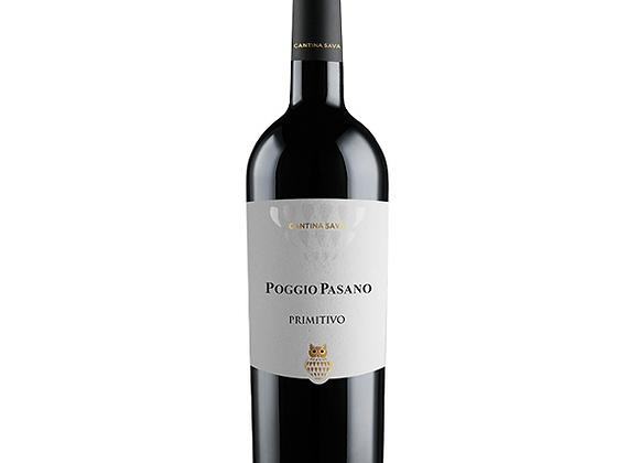 Cantina Sava Poggio Pasano Primitivo Puglia 2018