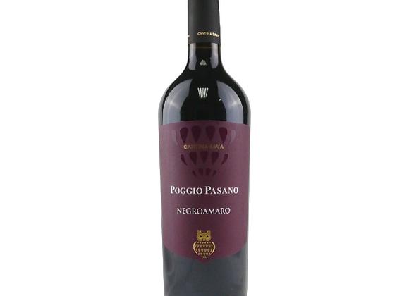Cantina Sava Poggio Pasano Negroamaro Puglia 2018
