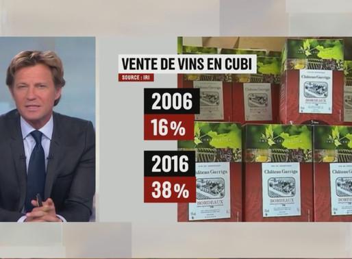 les vins en cubi ont la côte