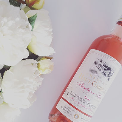 Bordeaux Rosé wine