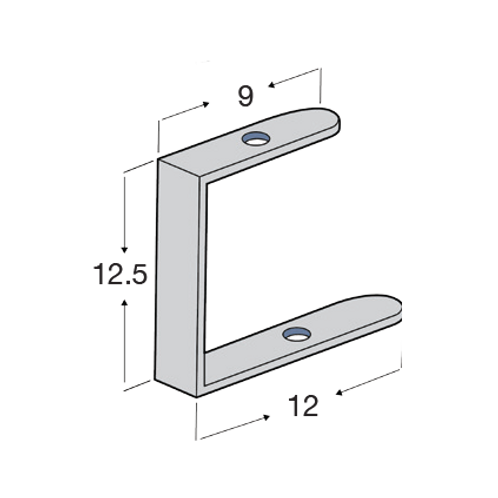4X6X6 C-Bracket HDG SMARTr